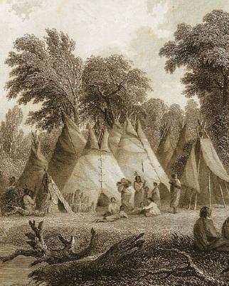 Вигвамы коренных американцев