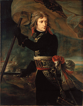«Наполеон на Аркольском мосту», Жан-Антуан Гро, 1801