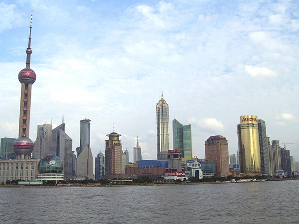 Деловой центр Шанхая, Китай